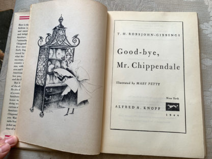Good-bye Mr. Chippendale 01