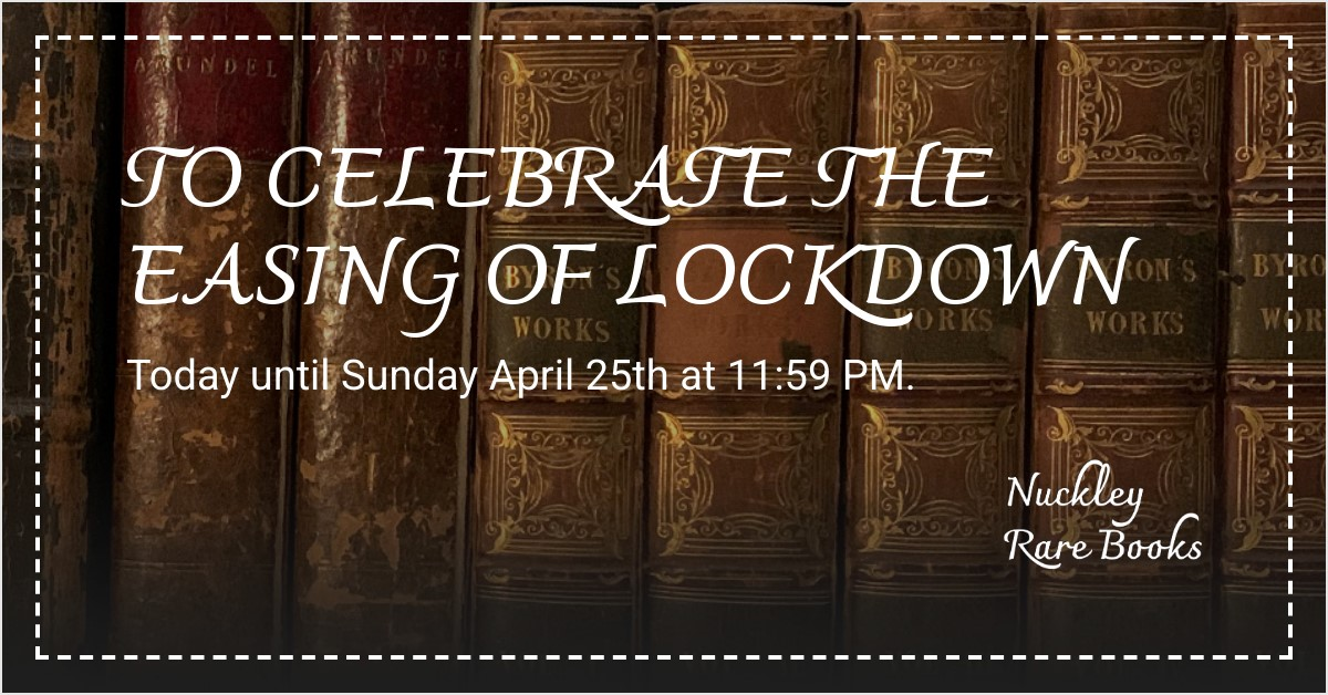 20% OFF TO CELEBRATE THE EASING OF LOCKDOWN